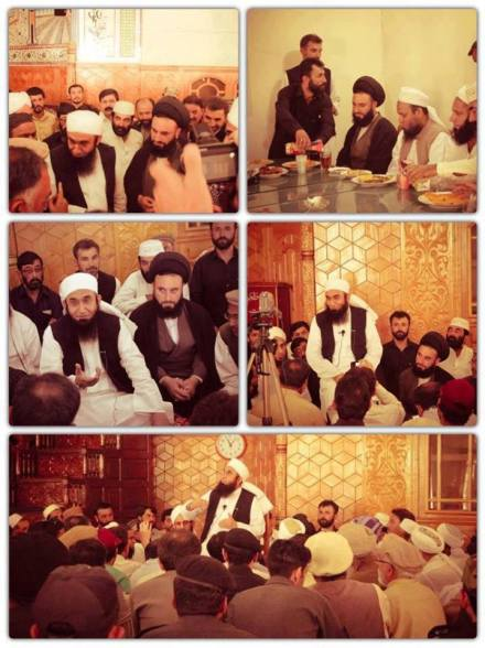 Tariq Jamil visit to Shia Mosque