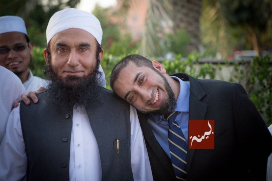 Nouman Ali Khan with Tariq Jameel